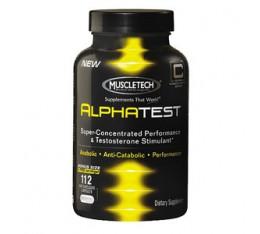 MuscleTech - AlphaTest / 100 caps. Хранителни добавки, Стимулатори за мъже