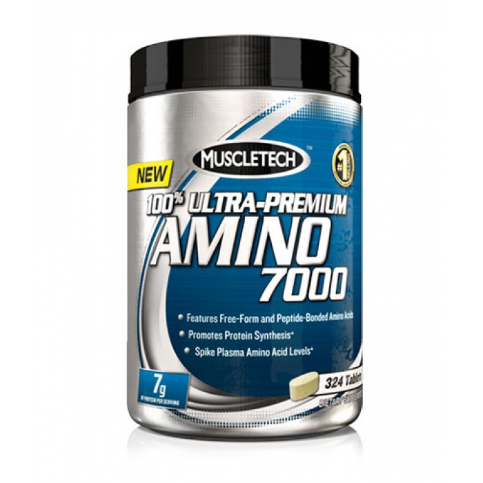 MuscleTech - 100% Ultra Premium Amino 700 / 324 tabs.