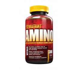 Mutant - Amino / 300 caps. Хранителни добавки, Аминокиселини, Комплексни аминокиселини
