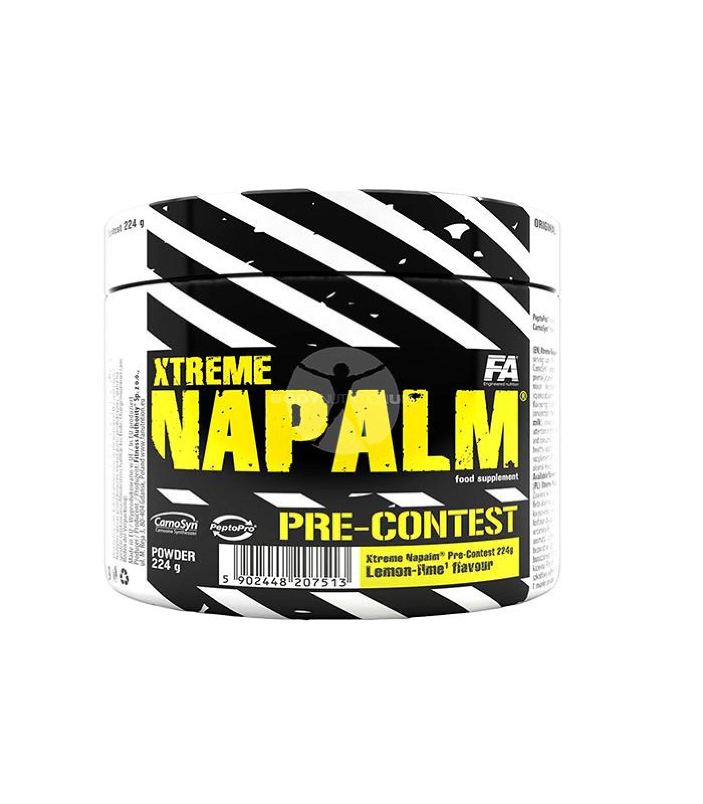FA Nutrition - Xtreme Napalm Pre-Contest / 224 gr.