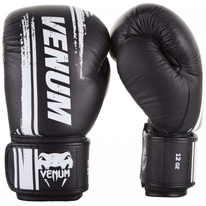 Боксови ръкавици - Venum Bangkok Spirit Boxing Gloves - Nappa leather - Black​