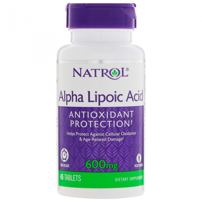 Natrol - Alpha Lipoic Acid 600mg - Time Release / 45 tabs