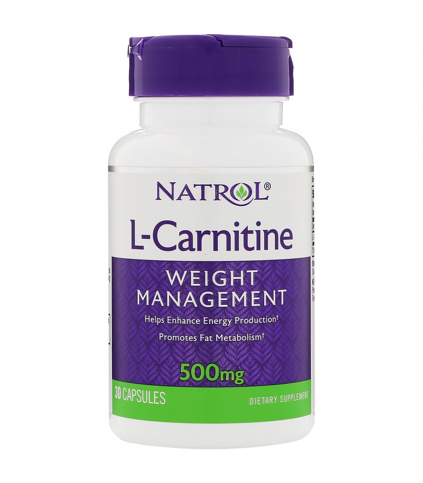 Natrol - L-Carnitine 500mg. / 30 caps