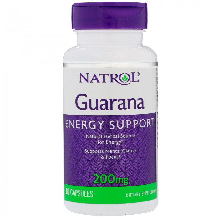 Natrol - Guarana 200mg. / 90 caps