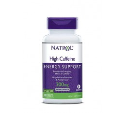 Natrol - High Caffeine 200mg. / 100 tab
