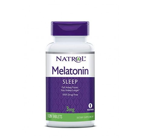 Natrol - Melatonin 3mg / 120 tab