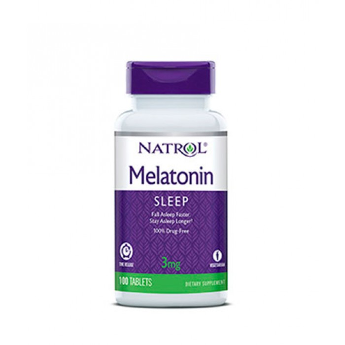 Natrol - Melatonin 3mg Time Release / 100 tab