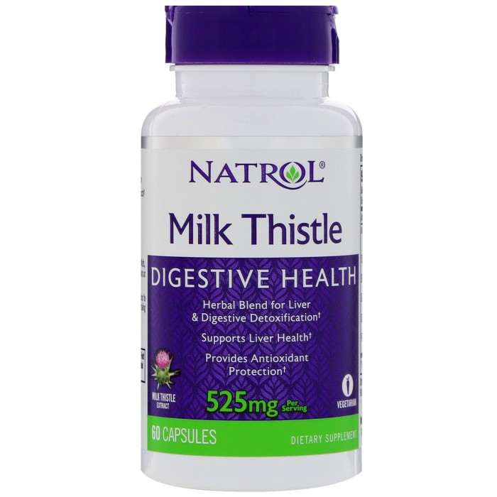 Natrol - Milk Thistle Advantage / 60 caps