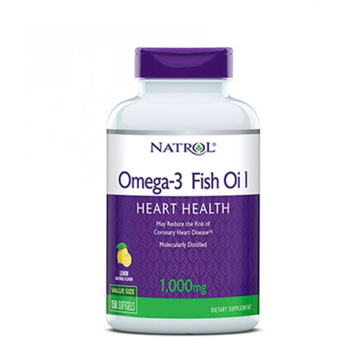 Natrol - Omega-3 Fish Oil 1000mg. / 150 softgel