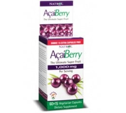 Natrol - Acai Berry / 75 caps Хранителни добавки, Антиоксиданти, Акай