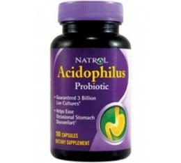 Natrol - Acidophilus Probiotic 100 мг. / 30 tab Хранителни добавки, Здраве и тонус