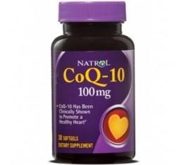 Natrol - CoQ-10 100mg / 30 softgels Хранителни добавки, Антиоксиданти, Коензим Q10