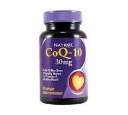 Natrol - CoQ-10 30mg / 30 caps Хранителни добавки, Антиоксиданти, Коензим Q10