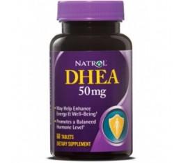 Natrol - DHEA 50mg / 60 tab Хранителни добавки, Здраве и тонус, Presents, ПОДАРЪЦИ, 300