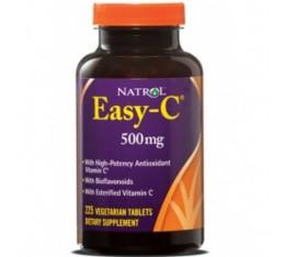 Natrol - Easy-C 500mg+Citrus Bioflavonoids / 120 caps. Хранителни добавки, Витамини, минерали и др., Витамин C