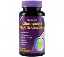 Natrol - Glucosamine MSM CetylPure / 60 caps Хранителни добавки, За стави и сухожилия