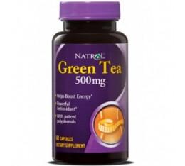 Natrol - Green Tea 500mg. / 60 caps Хранителни добавки, Отслабване
