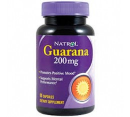 Natrol - Guarana 200mg. / 90 caps Хранителни добавки, Енергийни продукти