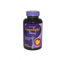 Natrol - Gugulipid 500mg. / 100 caps Хранителни добавки, На билкова основа