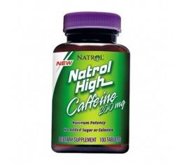 Natrol - High Caffeine 200mg. / 100 tab Хранителни добавки, Отслабване, Кофеин