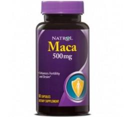Natrol - Maca 500mg. / 60 caps Хранителни добавки, Здраве и тонус, Здраве за мъжа
