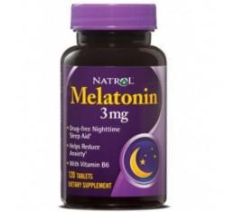 Natrol - Melatonin 3mg / 120 tab Хранителни добавки, Здраве и тонус, В подкрепа на съня