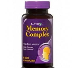 Natrol - Memory Complex / 60 tab Хранителни добавки, Здраве и тонус, В подкрепа на мисловната дейност