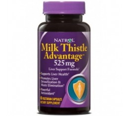 Natrol - Milk Thistle Advantage / 60 caps Хранителни добавки, Здраве и тонус, Здраве за черния дроб