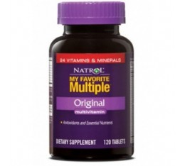Natrol - My Favorite Multiple / 180 caps Хранителни добавки, Витамини, минерали и др., Мултивитамини