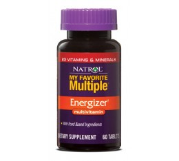 Natrol - My Favorite Multiple Energizer / 60 tab Хранителни добавки, Витамини, минерали и др., Мултивитамини