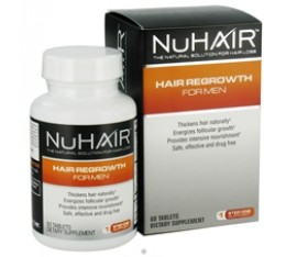 Natrol - NuHair Hair Regrowth System for Men / 30 day kit Хранителни добавки, Здраве и тонус