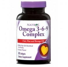 Natrol - Omega 3-6-9 Complex / 60 softgel