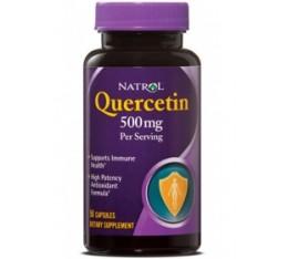 Natrol - Quercetin 500mg. / 50 caps Хранителни добавки, Антиоксиданти, Кверцетин