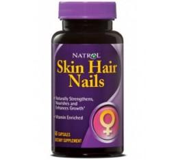 Natrol - Skin Hair Nails / 60 caps Хранителни добавки, Здраве и тонус, Формули за жени