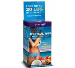 Natrol - Tropical Thin - Weight Loss Plan! / 60 caps