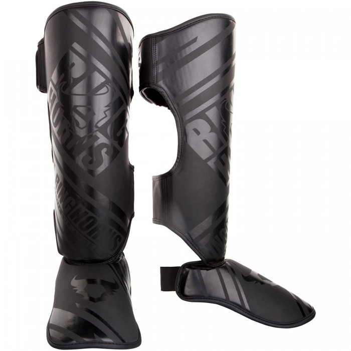 Протектори за крака - Ringhorns Nitro Shinguards Insteps - Black/Black​