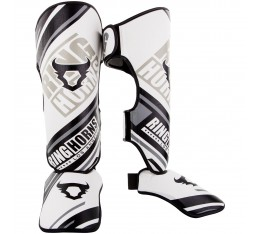 Протектори за крака - Ringhorns Nitro Shinguards Insteps / White​