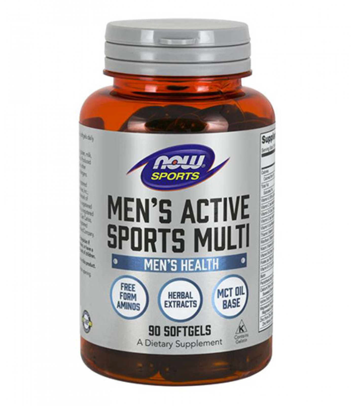 NOW - Men's Active Sports Multi / 90 softgels.