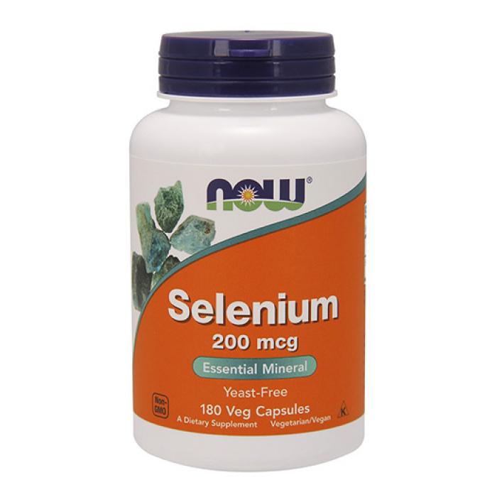 NOW - Selenium (Yeast Free) 200mcg. / 180 Vcaps.