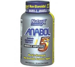Nutrex - Anabol 5 / 120 caps Хранителни добавки, Хардкор продукти