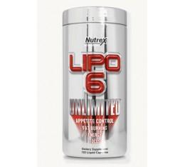 Nutrex - Lipo 6 Unlimited / 120 caps