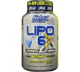 Nutrex - Lipo 6X / 120 caps Хранителни добавки, Отслабване, Фет-Бърнари