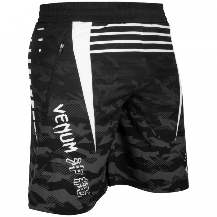 Фитнес Шорти - Venum Okinawa 2.0 Training Shorts - Black/White​