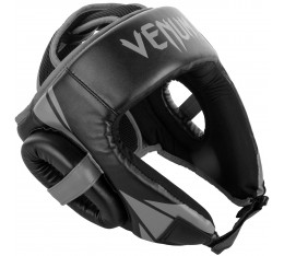 ПРОТЕКТОР ЗА ГЛАВА / КАСКА - Venum Challenger Open Face Headgear - Black/Grey​ Протектори за глава