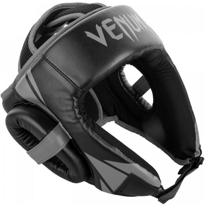ПРОТЕКТОР ЗА ГЛАВА / КАСКА - Venum Challenger Open Face Headgear - Black/Grey