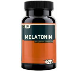 Optimum Nutrition - Melatonin 3 мг. / 100 tab Хранителни добавки, Здраве и тонус, В подкрепа на съня