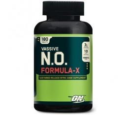 Optimum Nutrition - Vassive-NO Formula-X / 180 tab