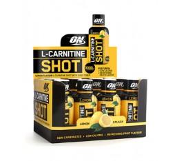 Optimum Nutrition - L-Carnitine Shot 3000mg. / 12 amp Хранителни добавки, Отслабване, Л-Карнитин
