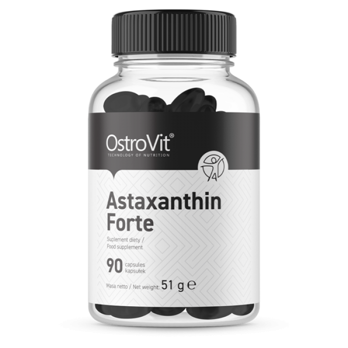 OstroVit Astaxanthin Forte 4 mg / 90 Гел капсули