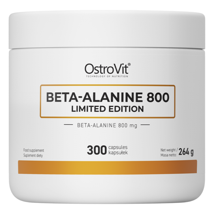 OstroVit Beta Alanine 800 / Limited Edition - 300 капсули